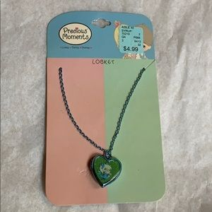 Precious Moments Girl's locket necklace new 2007